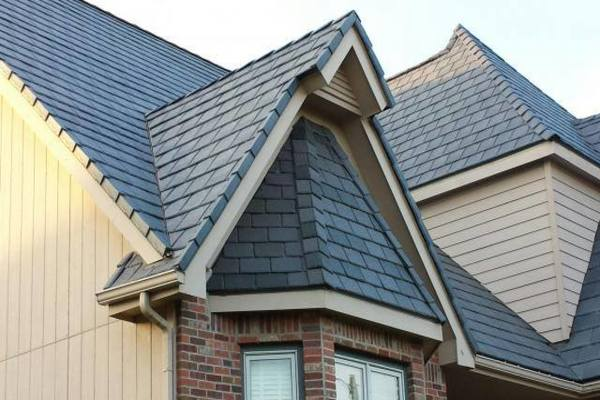 dormer window vertical roof tiles