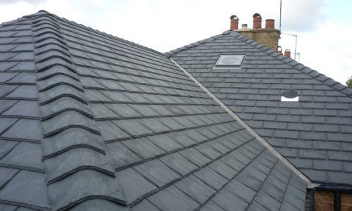 slate roofing repair in The Park