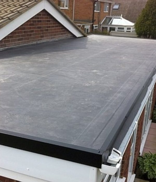Nottinghamshire flat roof repaired